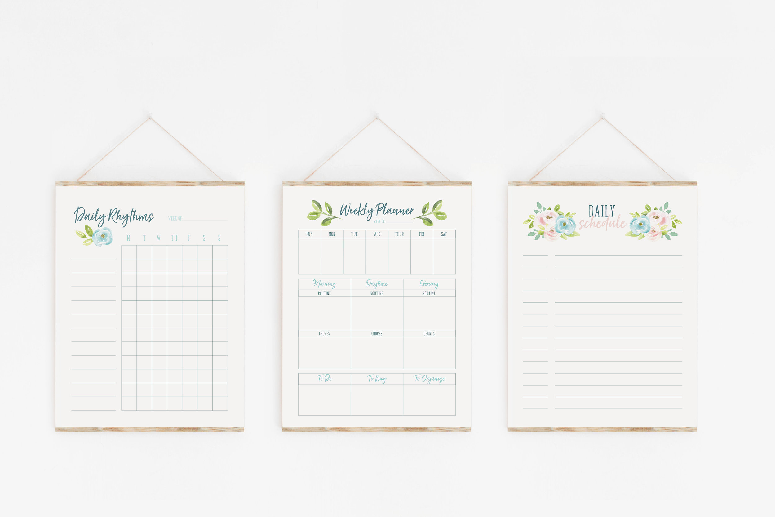 Printables for managing Mom-Life