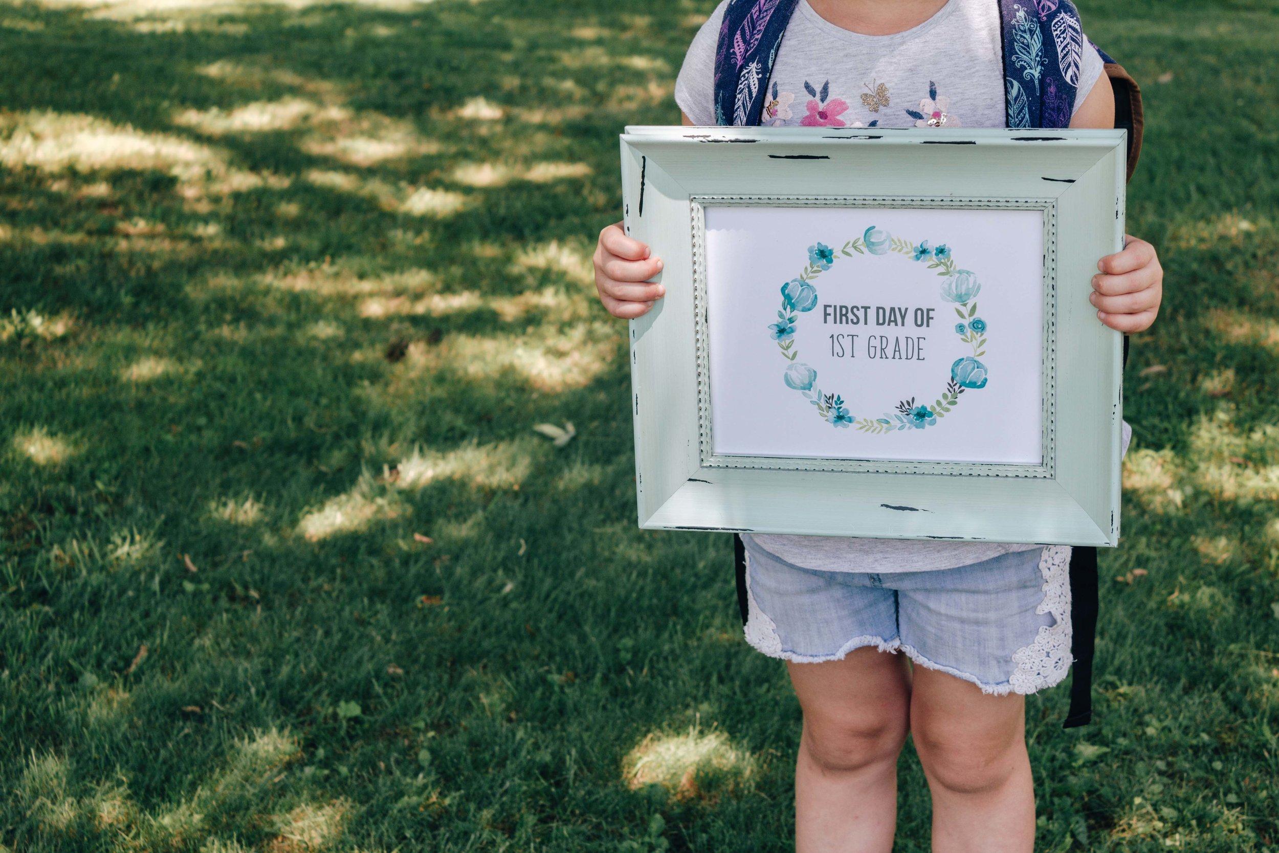 First Grade Printable