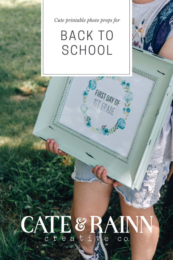 Back To School Printable Prints