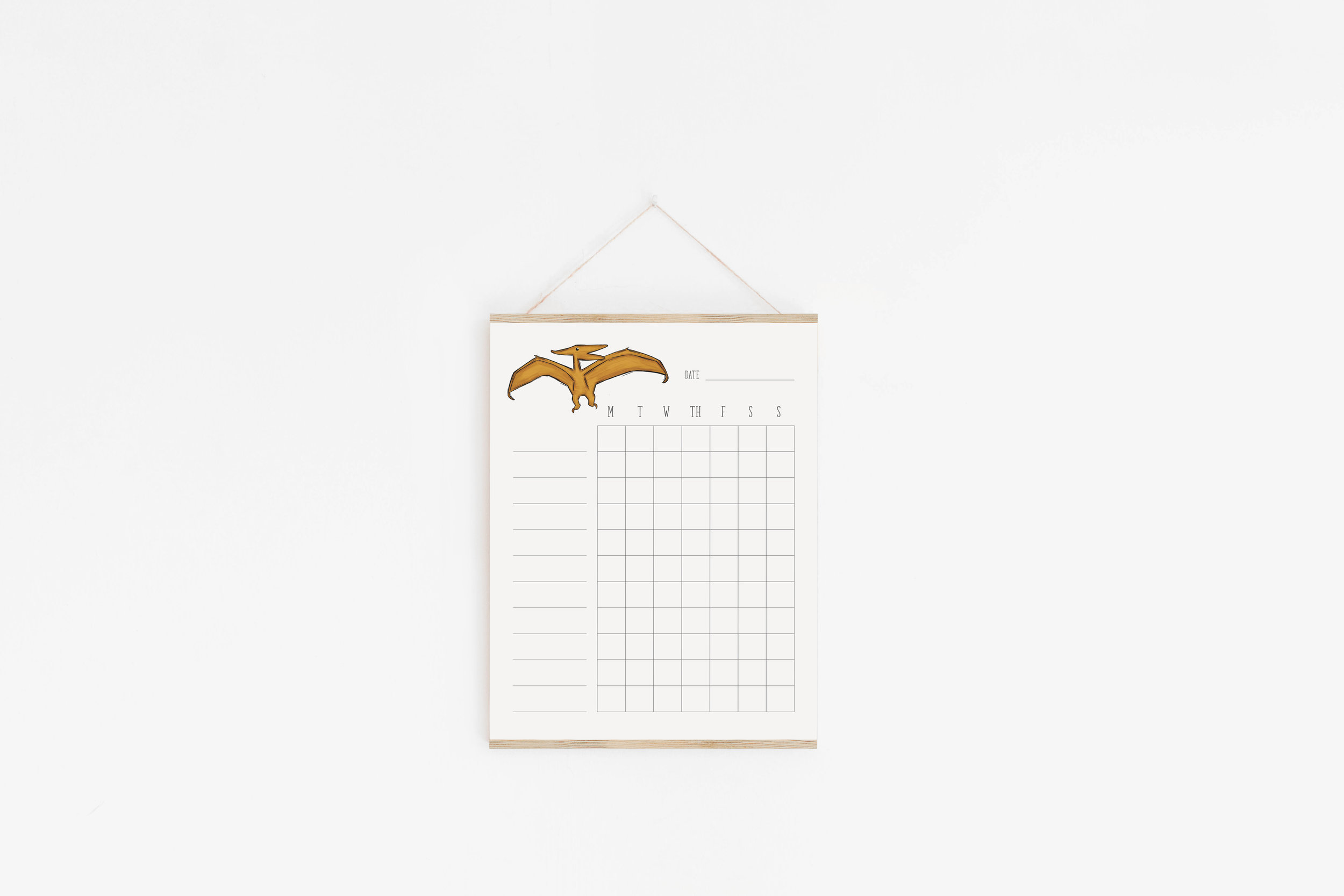 Dinosaur Chore Charts For Kids