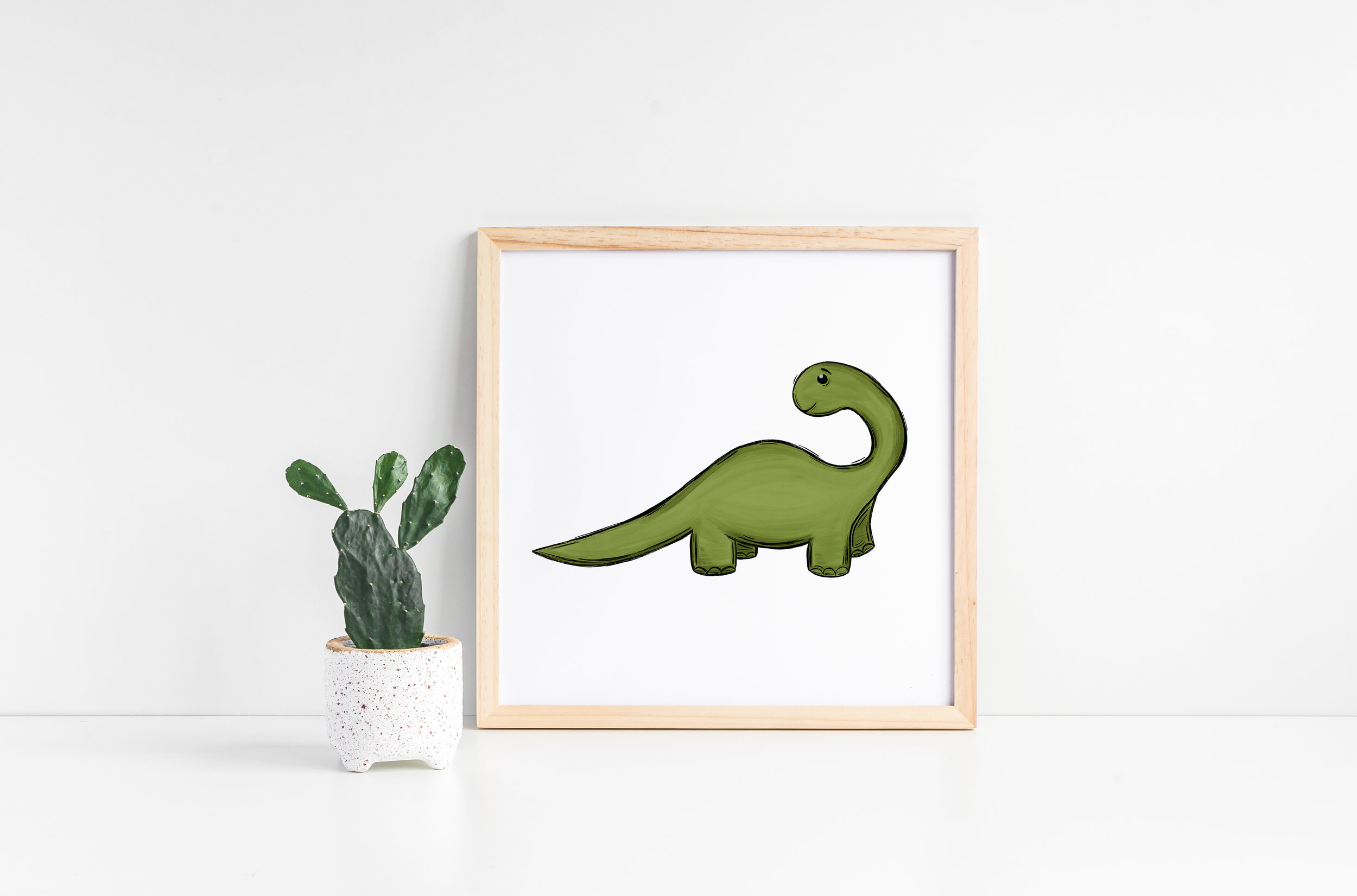 Cute Little Dinosaur Decor