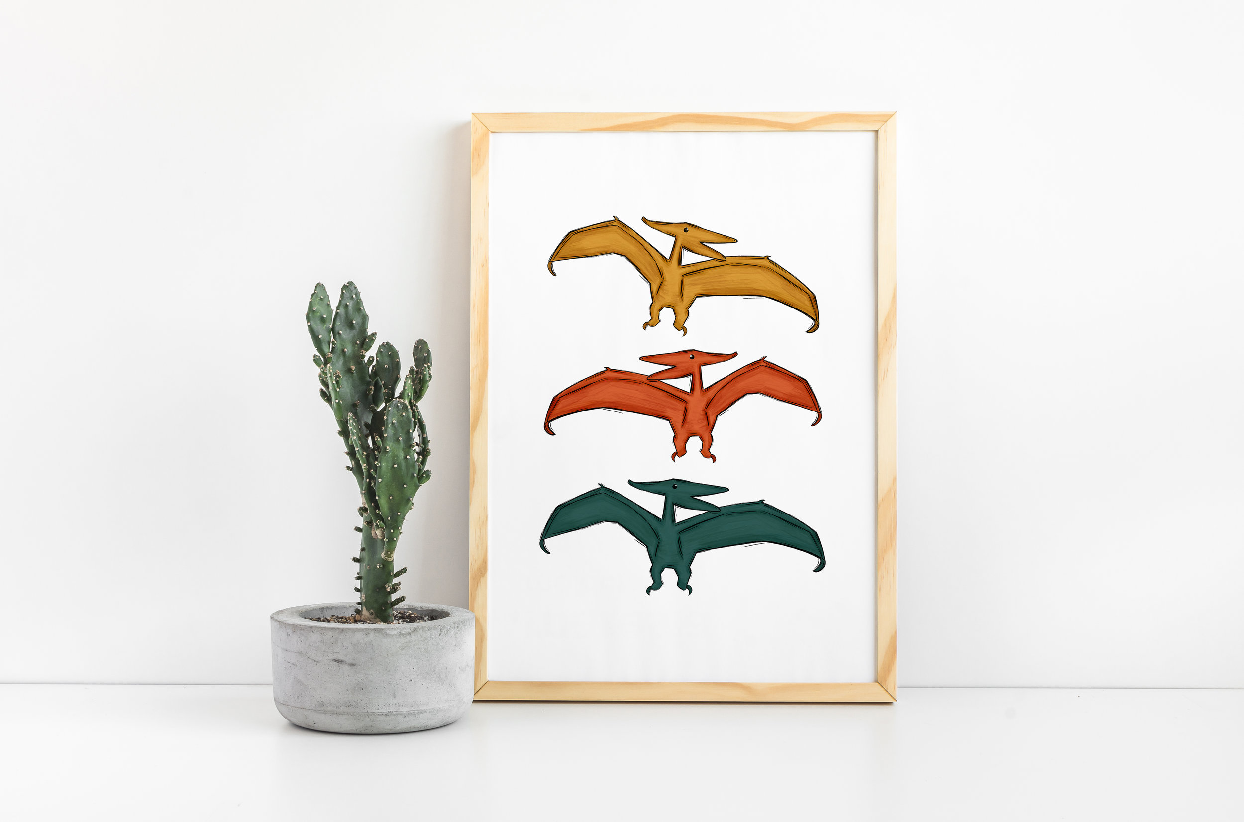 Pterodactyl Decor, Dinosaurs for Kids