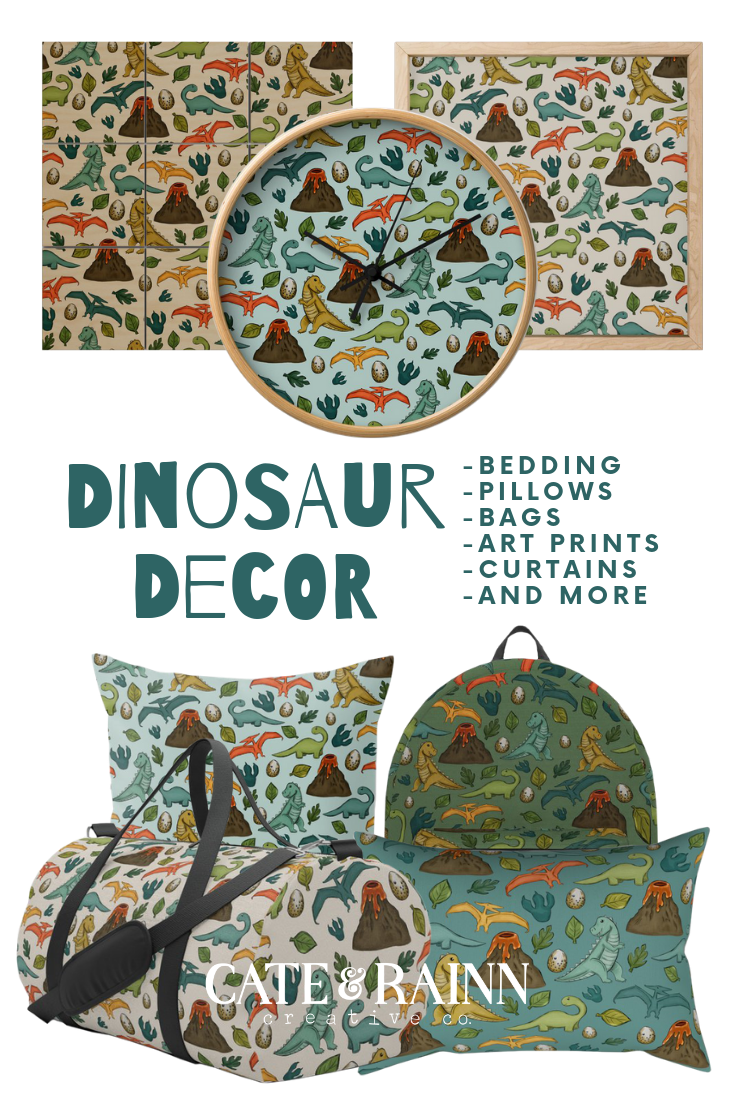 Dinosaur Decor and Gift Ideas