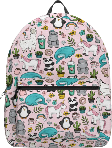 Unicorn Emoji Tween Backpack