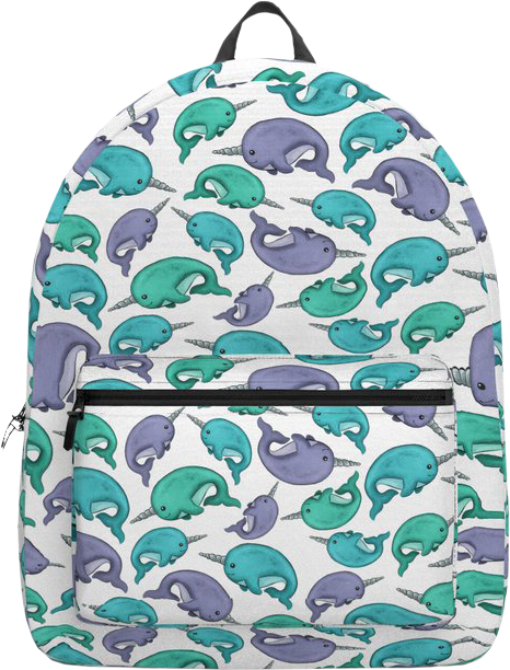 Narwhal Backpack For Girls