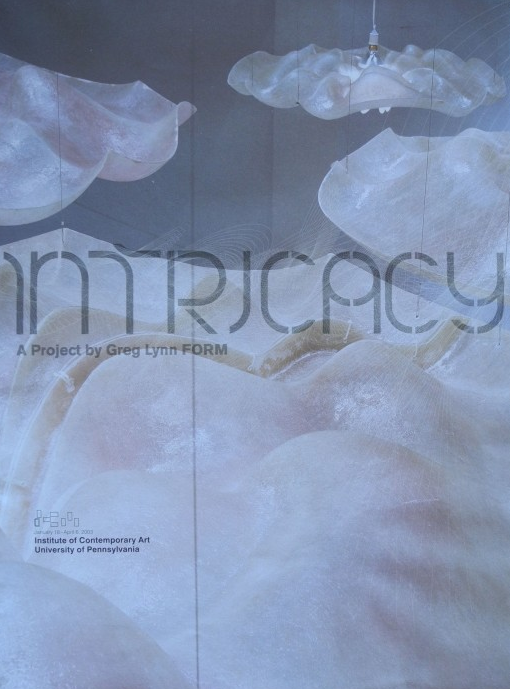 INTRICACY: A Project by Greg Lynn FORM