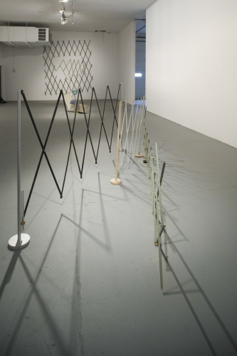 The Cyclops and the After Party (exhibition detail), 2008