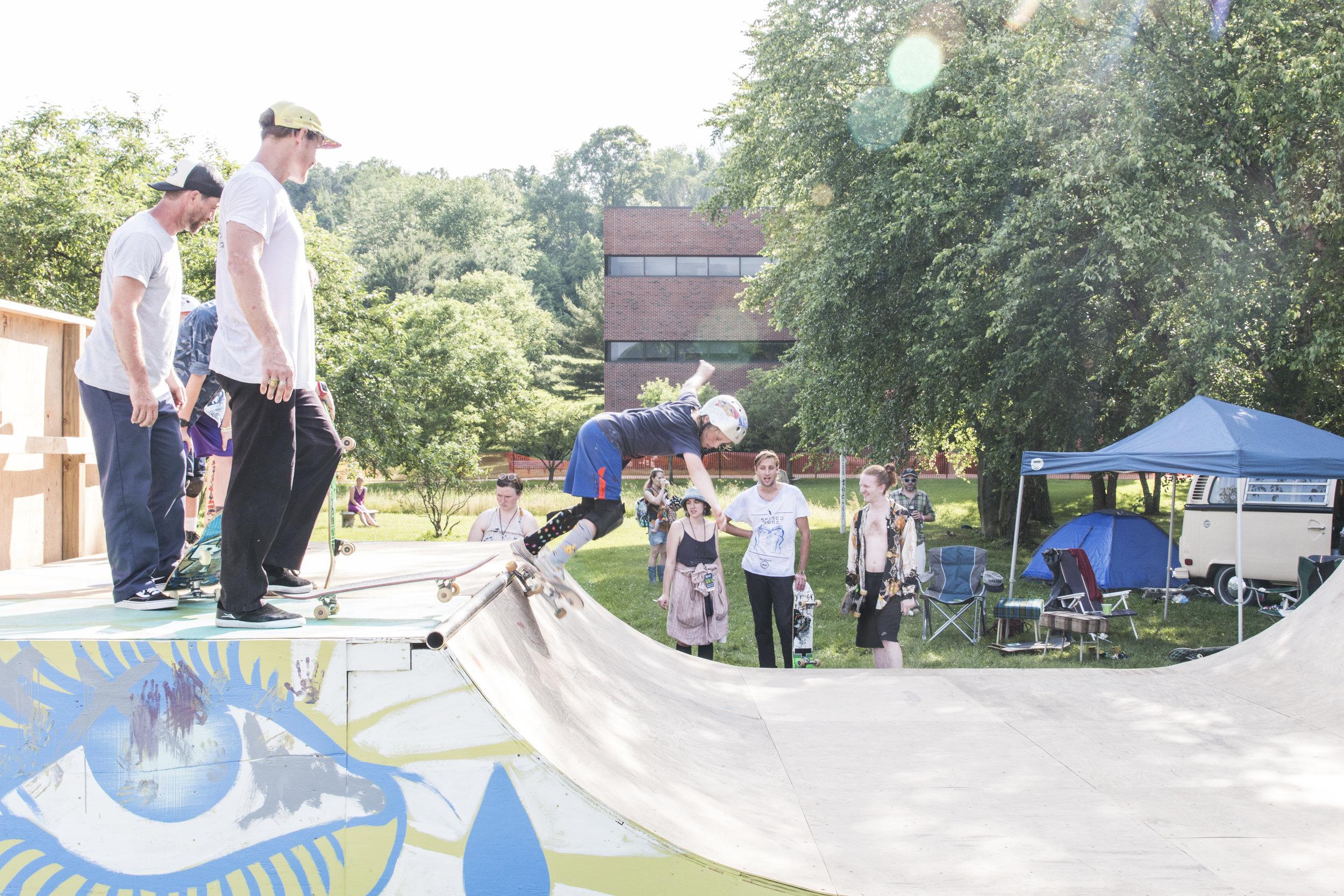 NMF Skate Ramp