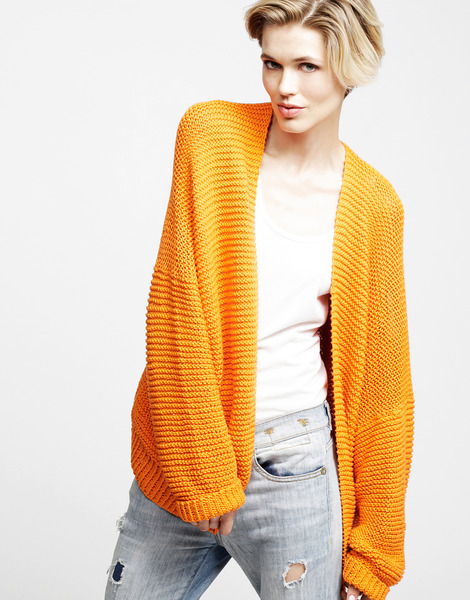 vivienne cardigan // wool and the gang
