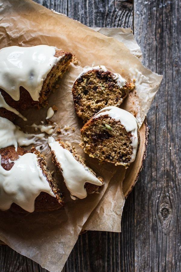 gluten free chocolate zucchini cake // edible perspective