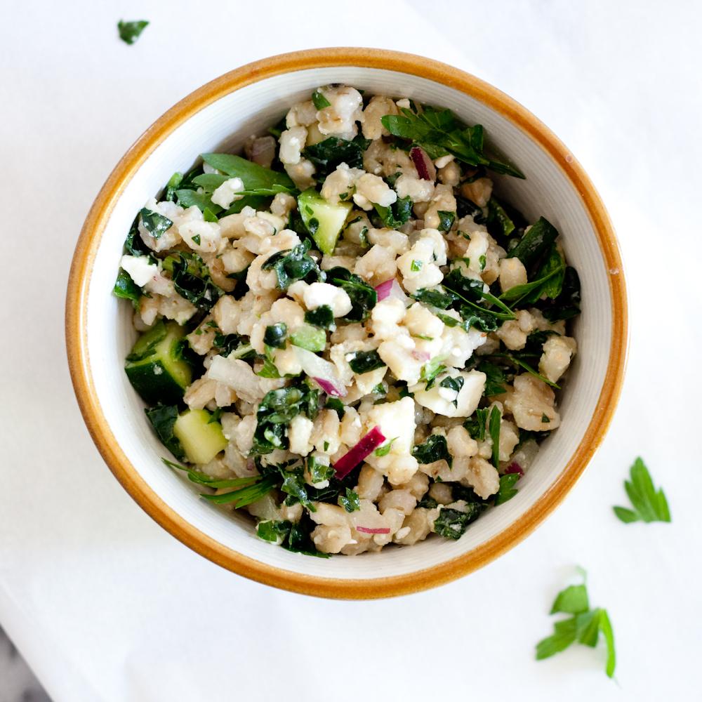 summer barley salad