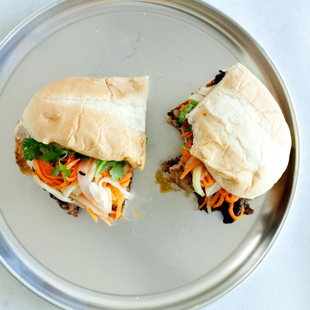 asian bbq sandwiches