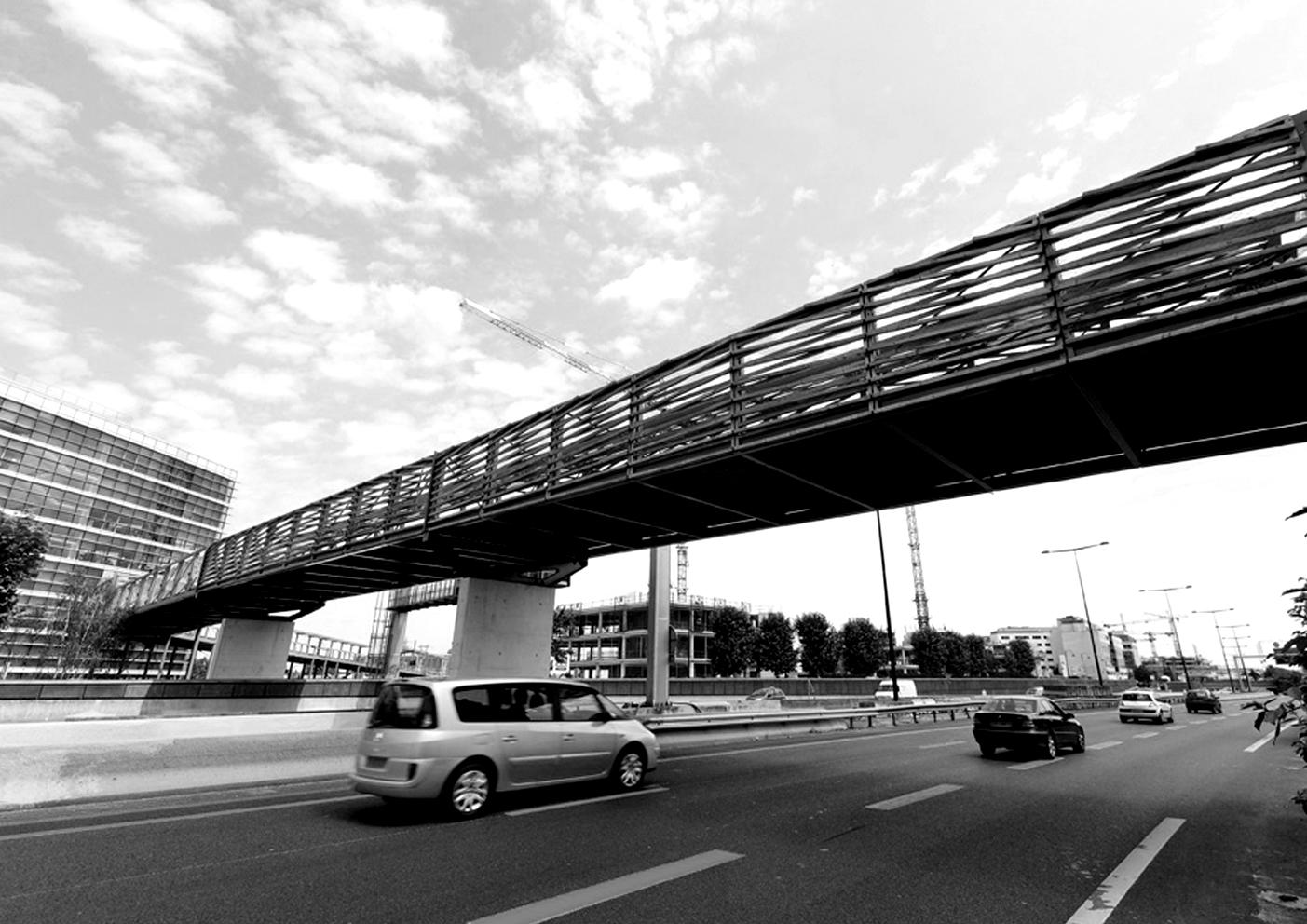 HDA Rueil Malmaison, passerelle. footbridge, Architect Nicolas Michelin, Nicolas Sterling Lead Engineer, Eiffel, ns_spans, ns