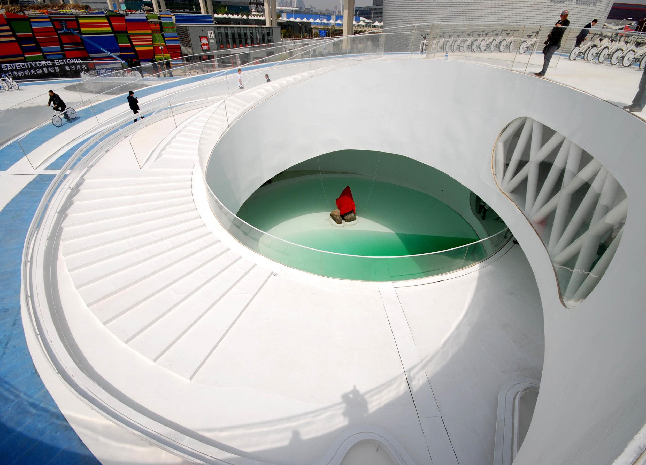 Denish Pavilion, Shanghai Expo 2010, BIG Bjarke Ingels, Nicolas Sterling, Arup, Arup AGU, Structural engineer, Cecil balmond