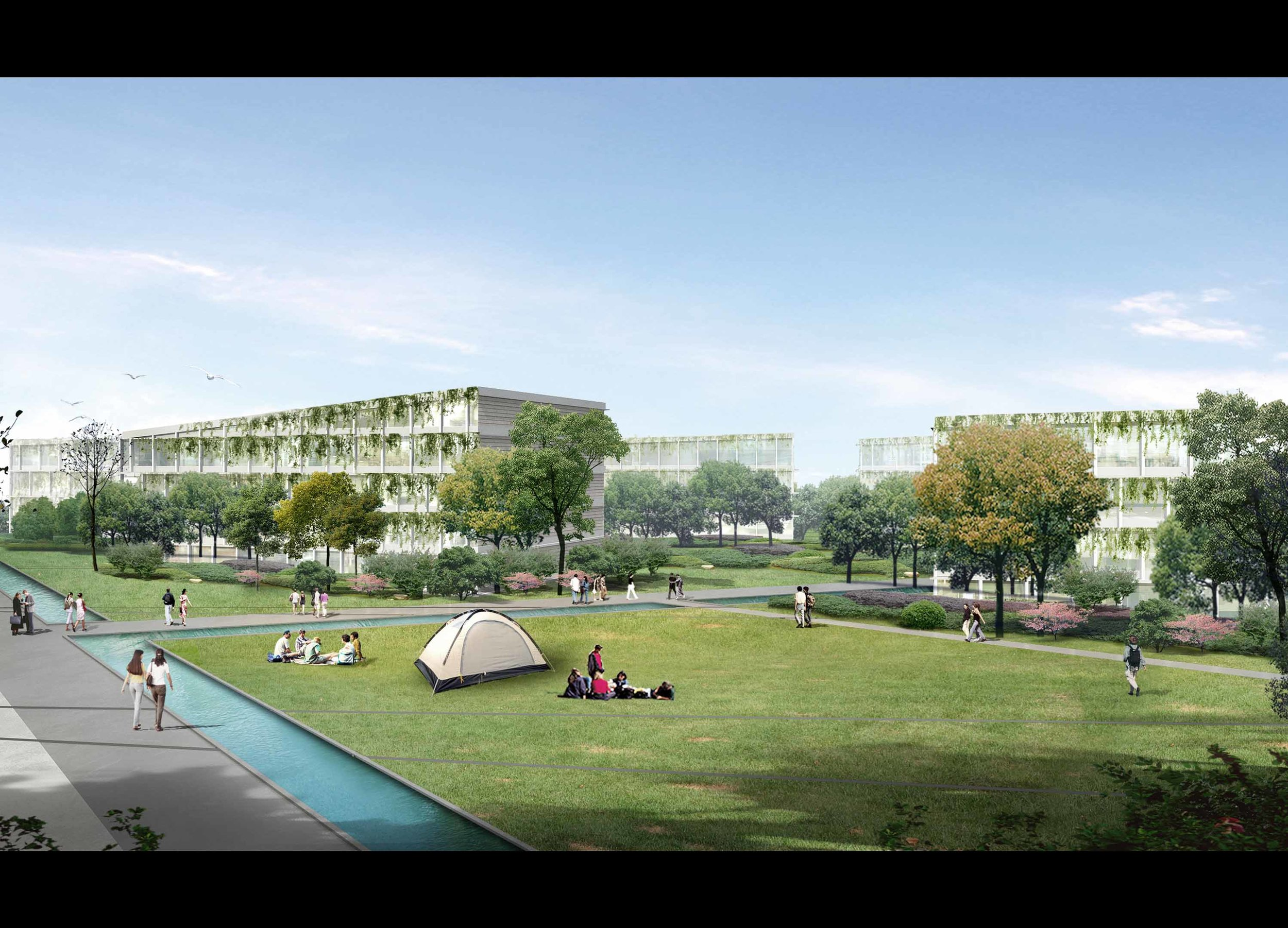 architecture and engineering office Berlin competition housing
