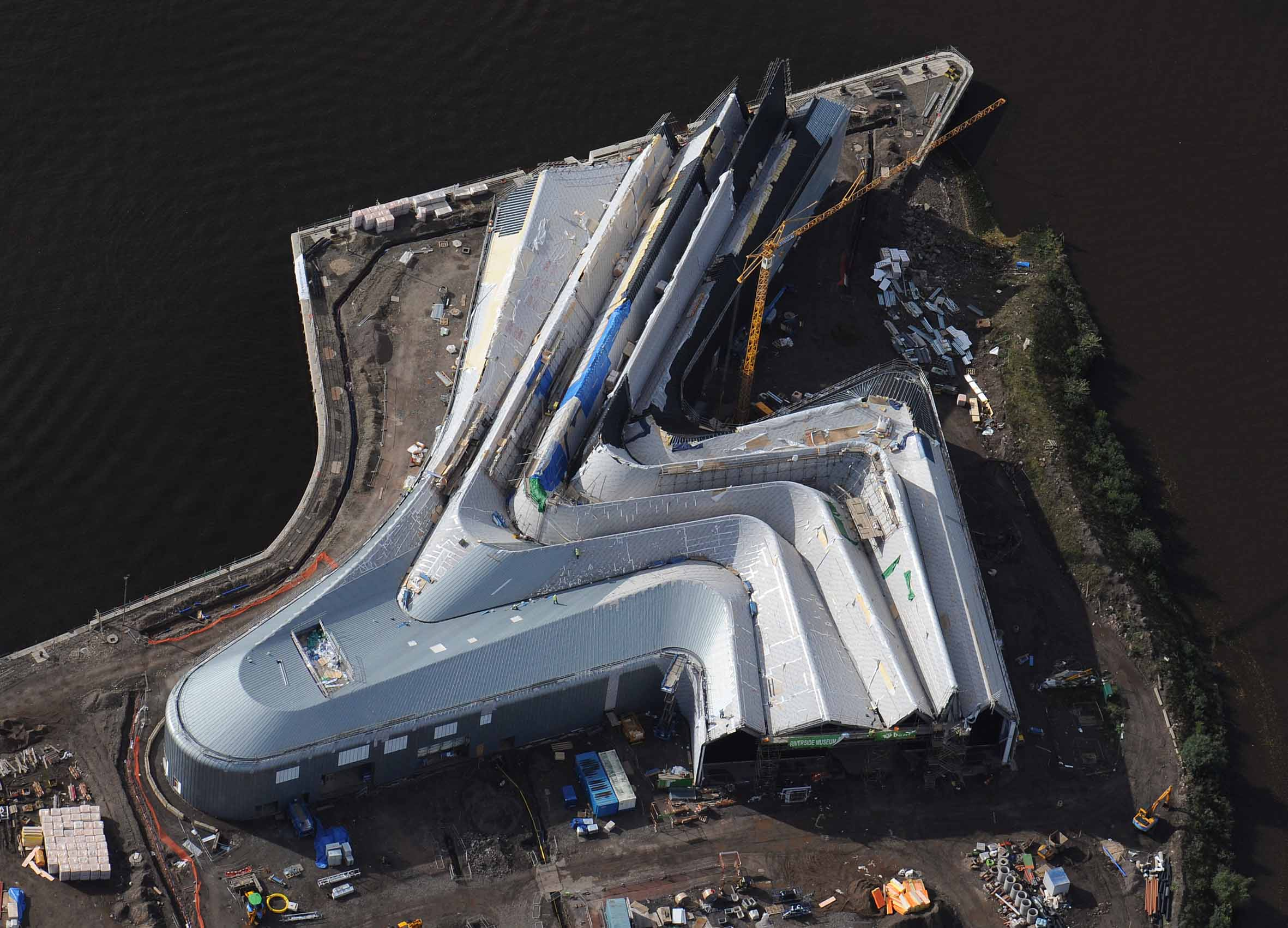 Museum of Transport, Glasgow, United Kingdom - Zaha Hadid Architects, Riverside Museum Project, Museum of Transport, Glasgow, United Kingdom (2006 – 2008)