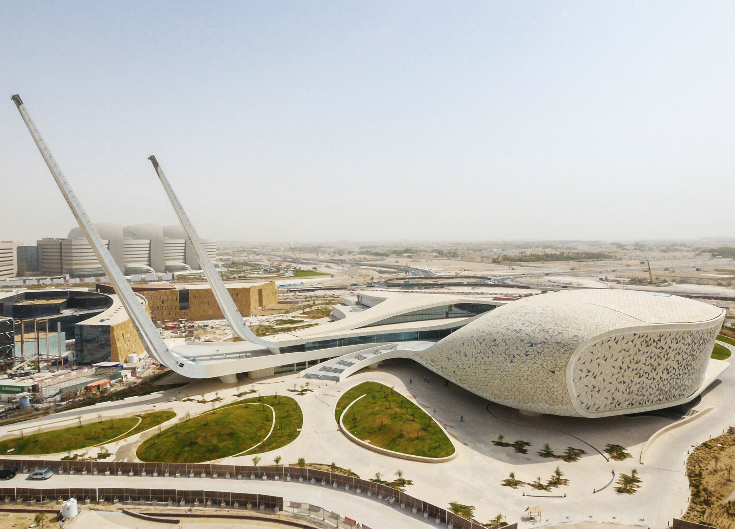 School of Islamic Studies, Qatar -  @ ARUP Building Engineering, Architects MYAA / RHWL