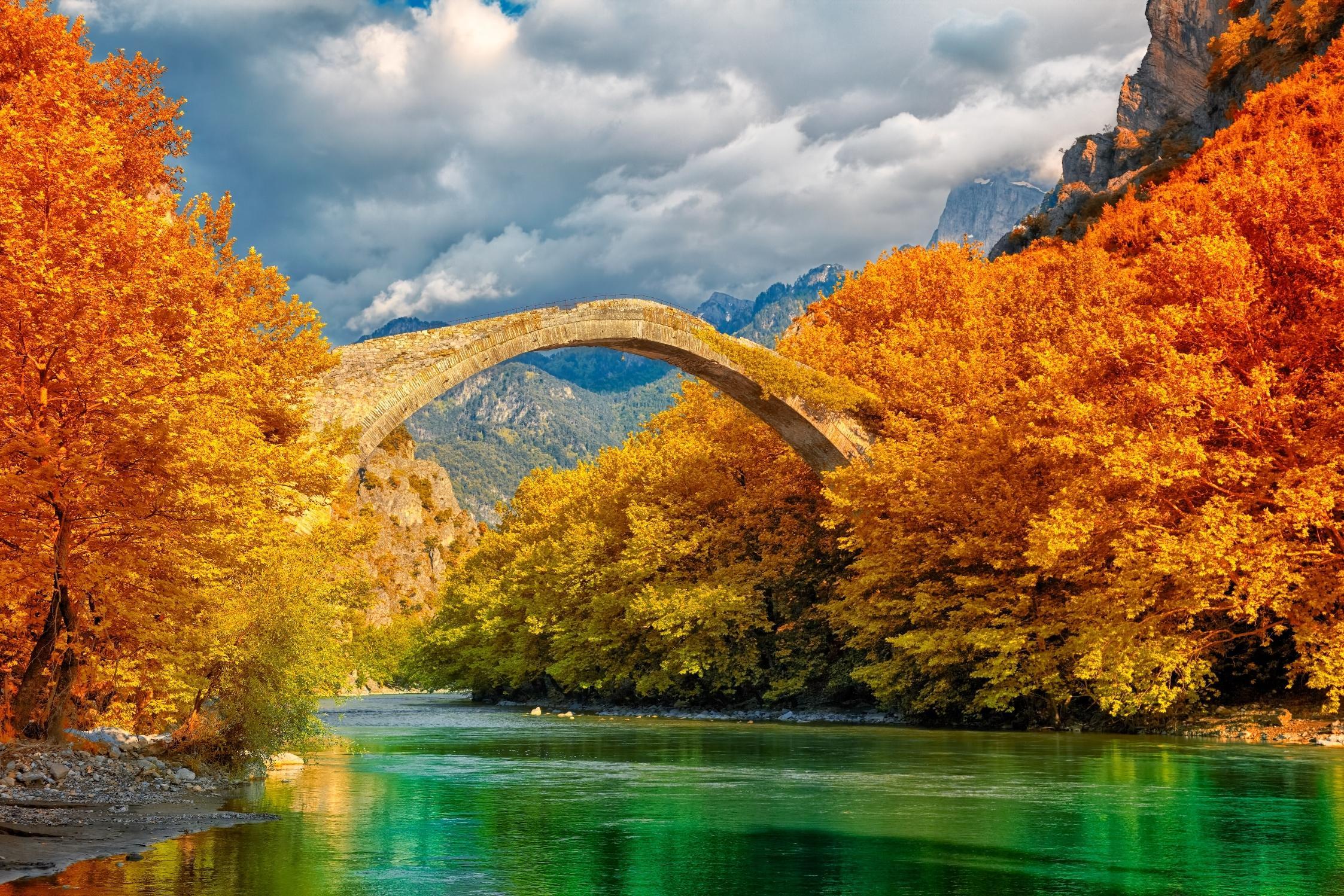 Bridge, Aoos River, Greece, Dance of colours, Marios Karlaftis, Nicolas Sterling, nicolassterling, ns_spans, spans, spansassociates.jpeg