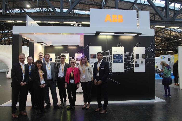 SPANS associates - Nicolas Sterling with ABB team