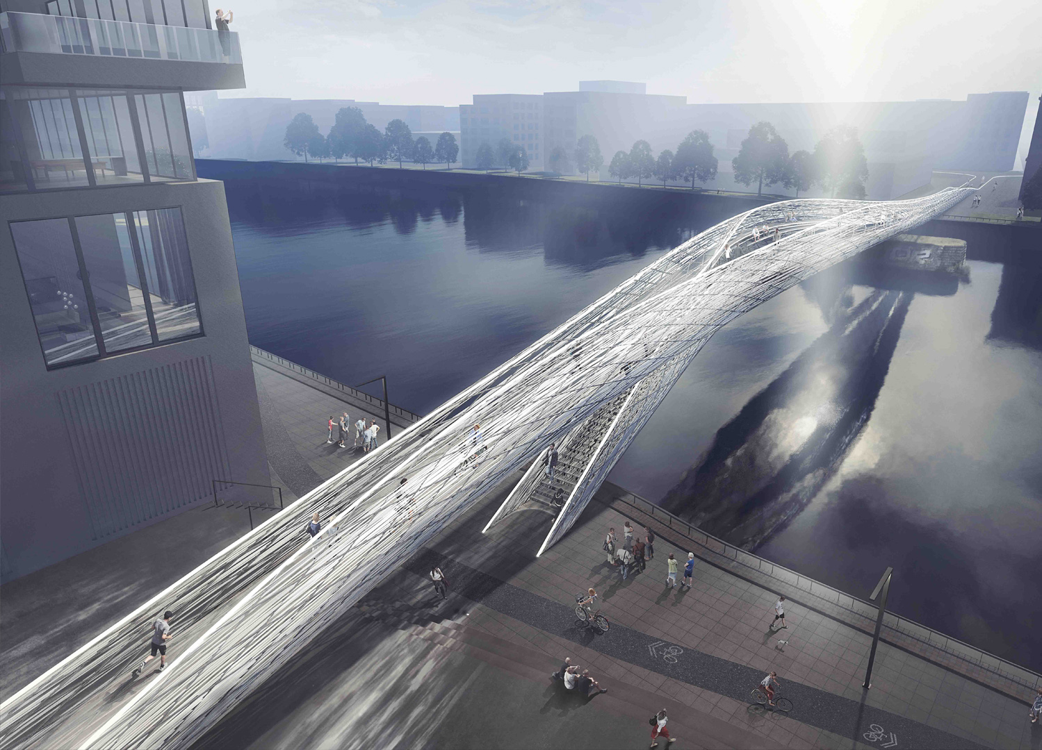 Infrastruktur - Brommy New Footbridge,