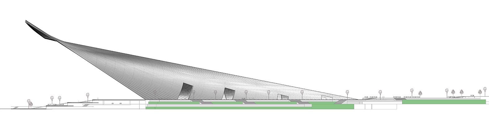 SPANS associates - Nicolas Sterling - Elke Sterling Presser - The Iconic Mosque - Dubai - Creek Harbour - Architect Engineer - concept 01, ns_spans