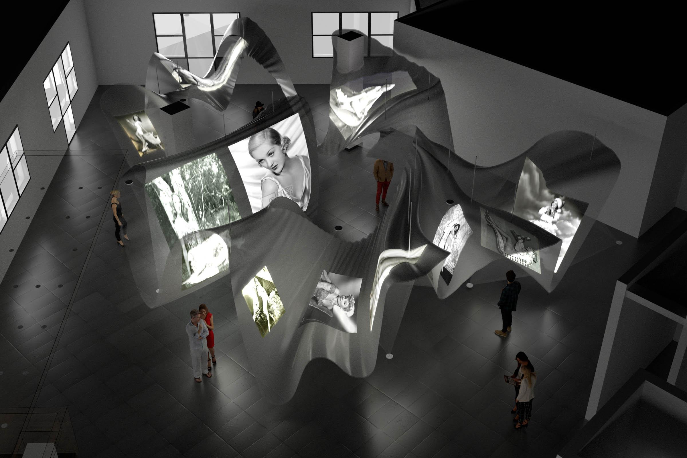 SPANS associates - The Seduction Pavilion - Unfammous stars - Marylin Monroe - 3D printing - Render 31.jpg