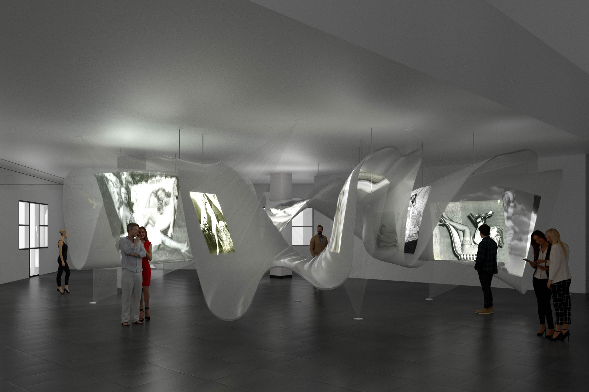 SPANS associates - The Seduction Pavilion - Unfammous stars - Marylin Monroe - 3D printing - Render 33.jpg