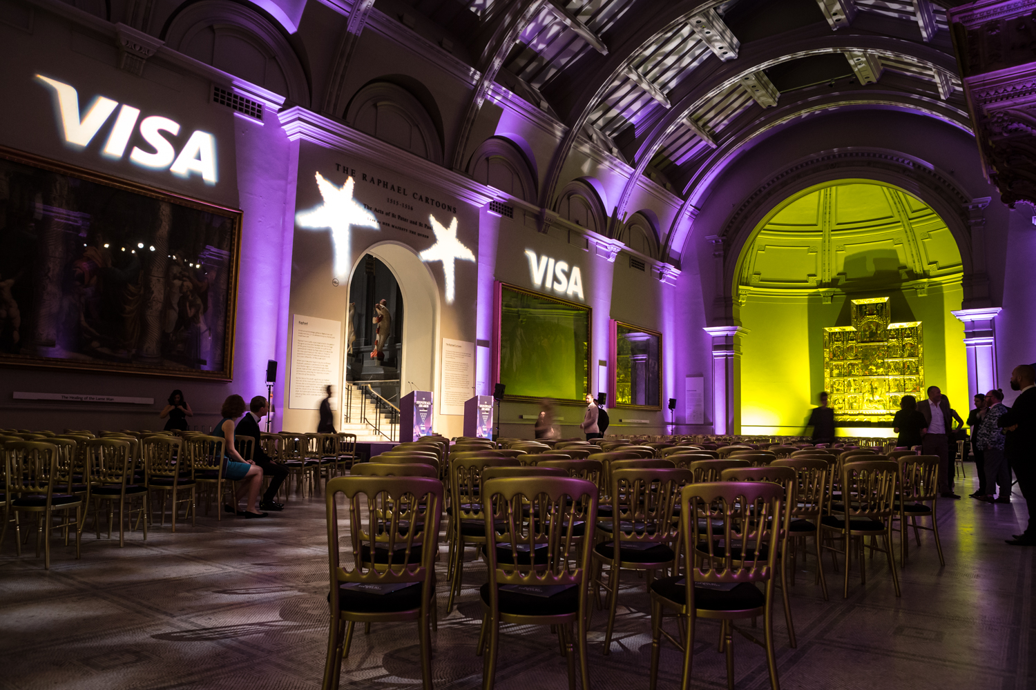 Creventive V&A Victoria & Albert Event Stonewall production Management Catering Design