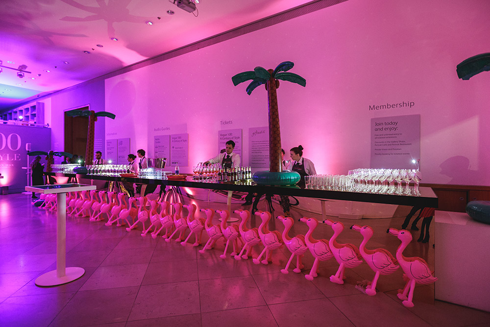 Creventive National Portrait Gallery Event Design Supplier Accredited Event Management Event Design