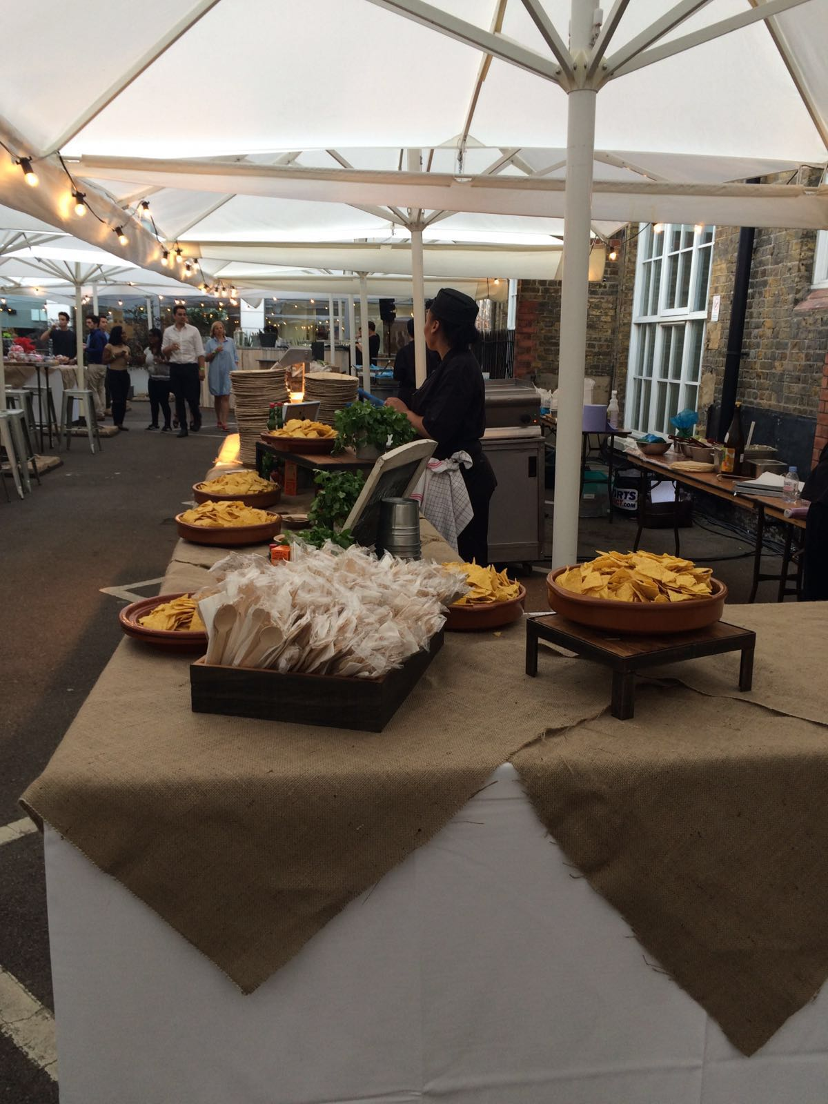 Creventive Corporate Party Zaha Hadid Block Party Catering Design Events London Technical Furniture