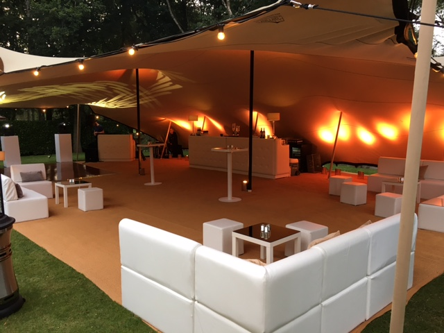 Creventive Private Party Beckhamsted Event Design Production Marquee Stretch Tent Furniture Lighting Sound AV
