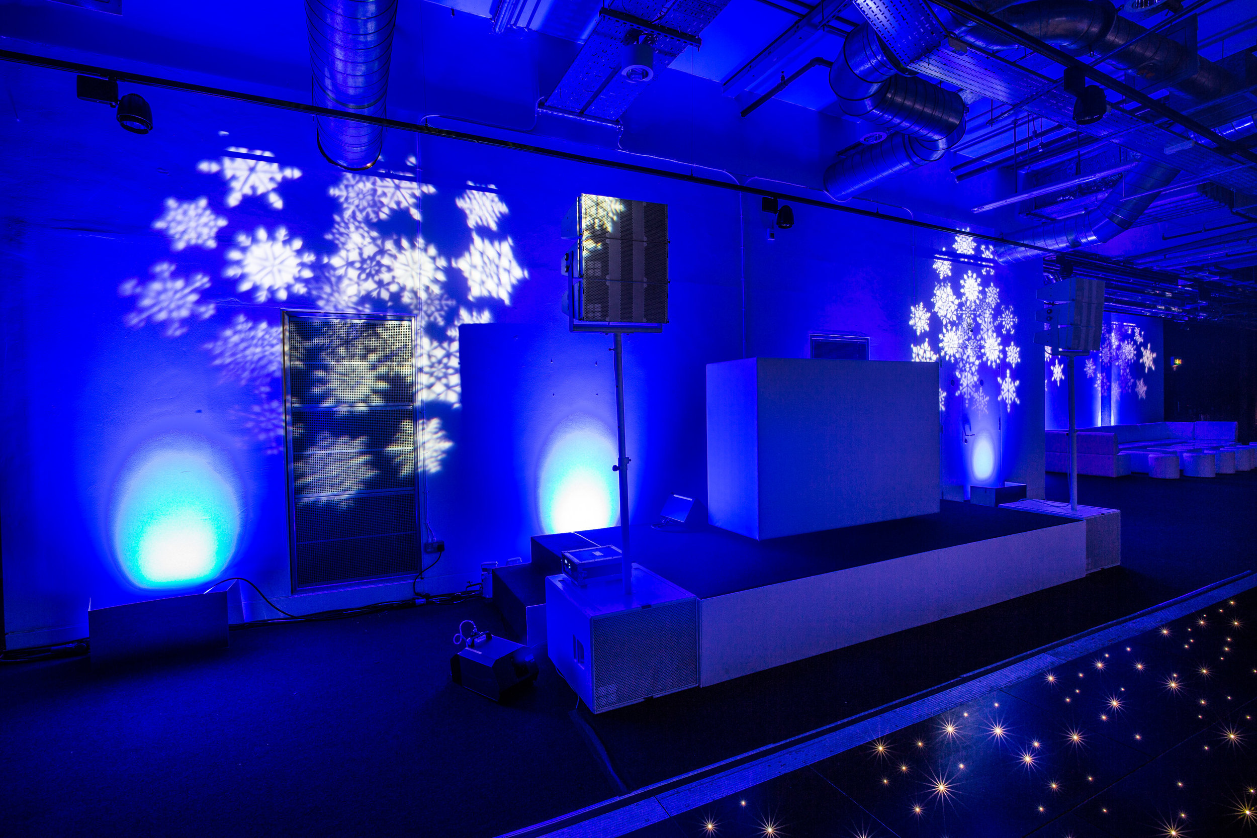 Creventive Corporate Christmas Party Science Museum Production Design