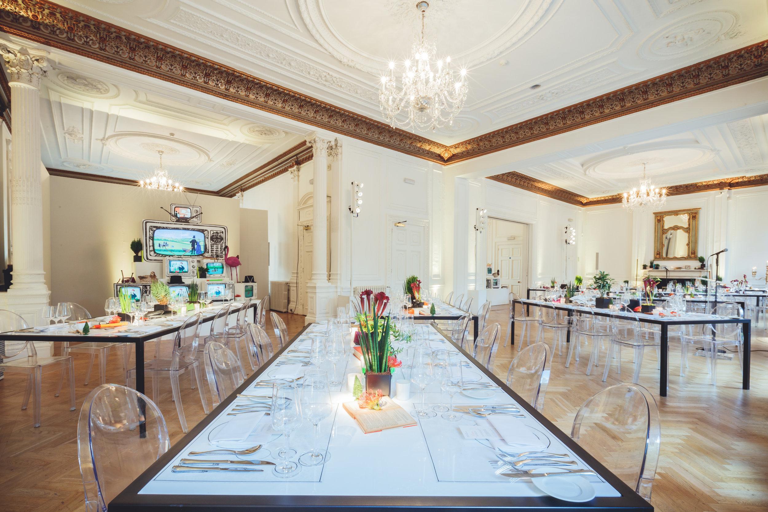 Creventive Corporate VVIP VIP Dinner One Belgravia Event Production Design