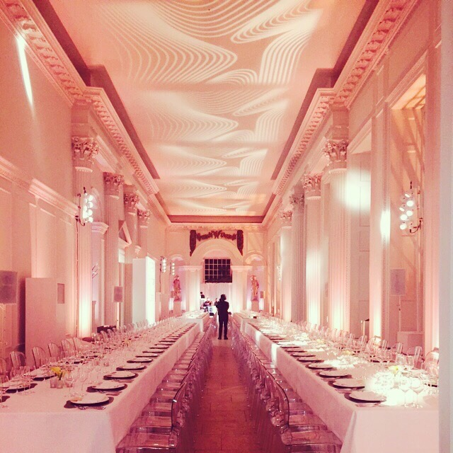 Creventive Kensington Palace Orangery Event Production Design Catering Private Party