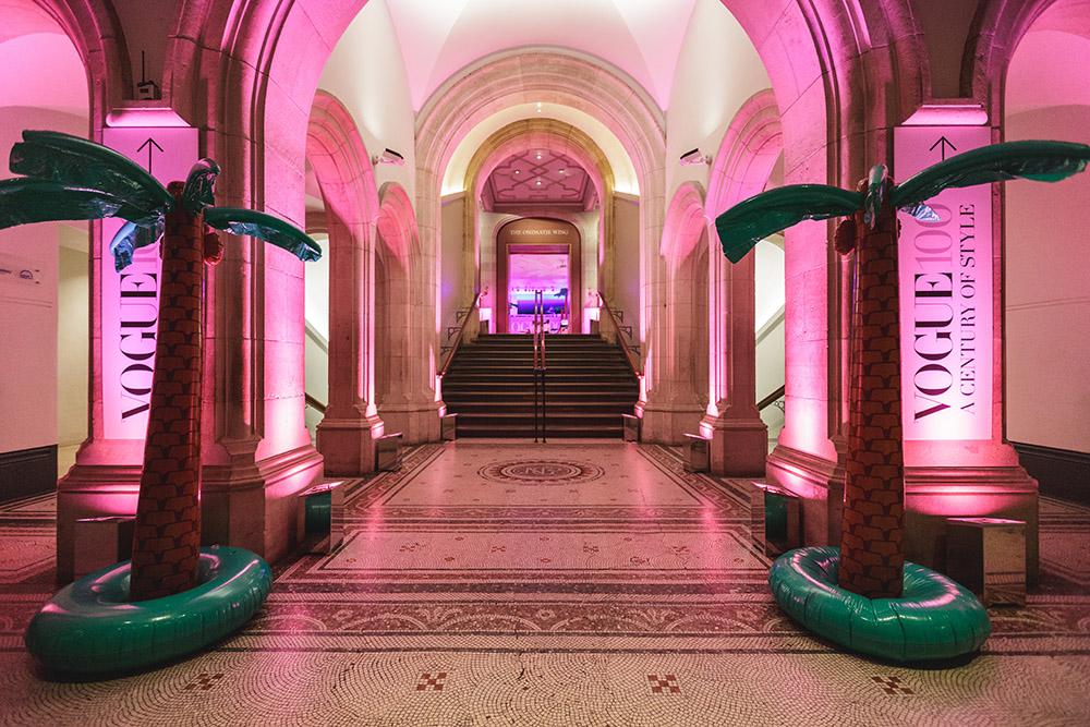Creventive Corporate Party National Portrait Gallery Event Production Design