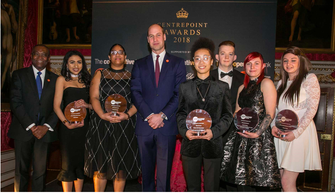 Centrepoint Awards Kensington Palace Creventive Design