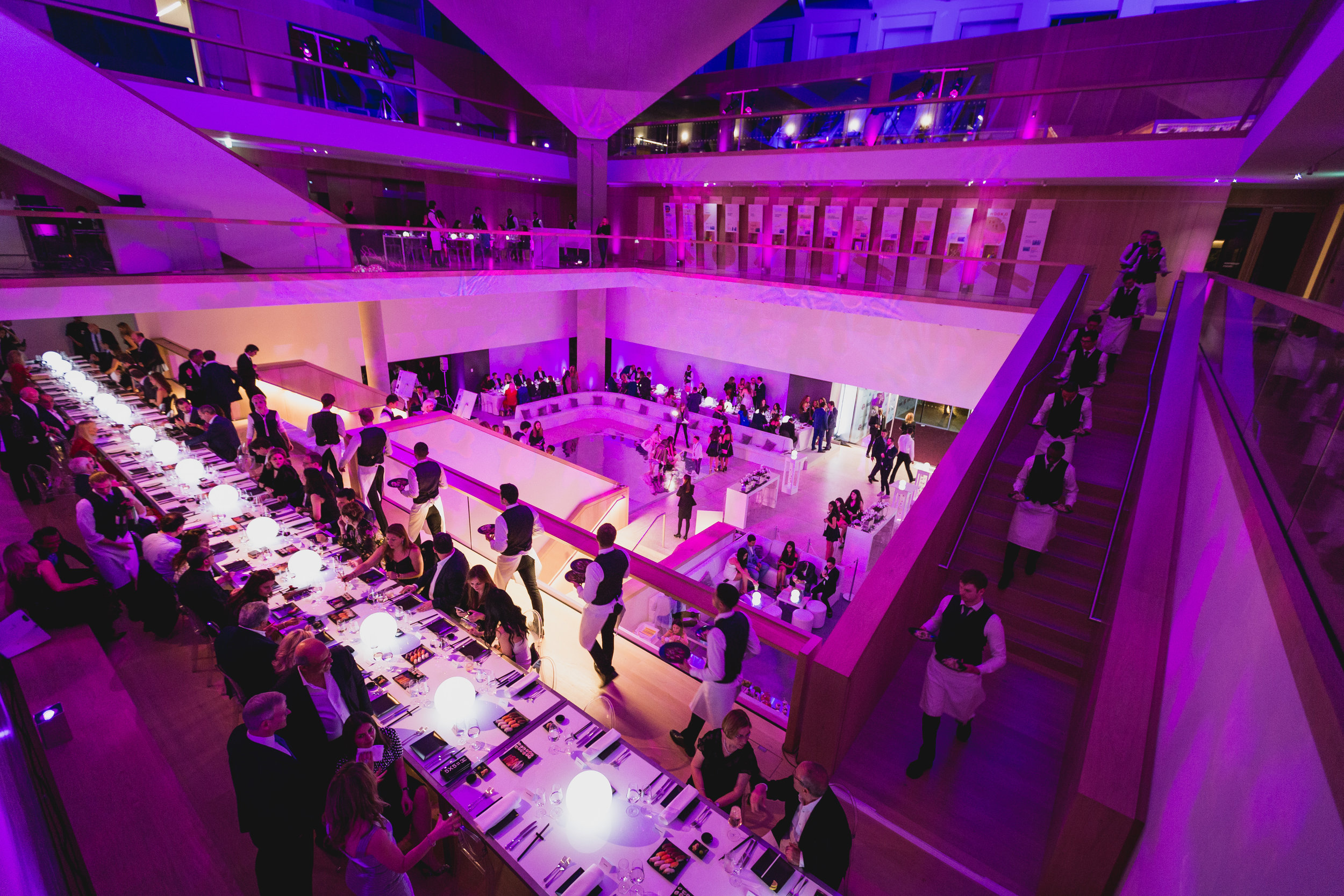 Creventive Design Museum Corporate Event Private Events Design Production Catering Lighting Sound Eventdesign