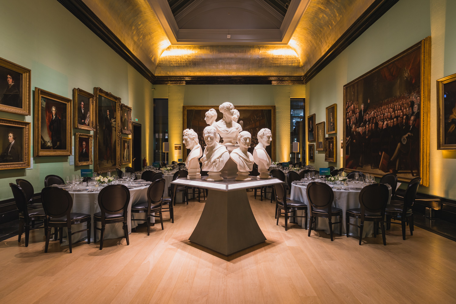 Creventive National Portrait Gallery Event Design Event Production London