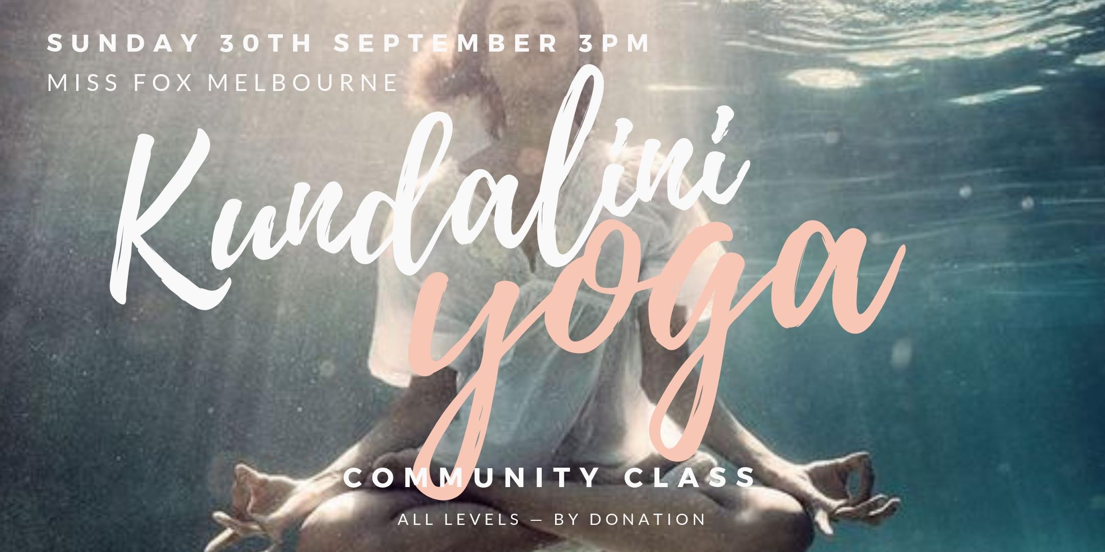 Kundalini Yoga Melbourne