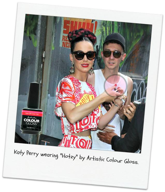 NAILS FOR KATY PERRY BY STAFF MEMBER SARAH JANE MACKENZIE