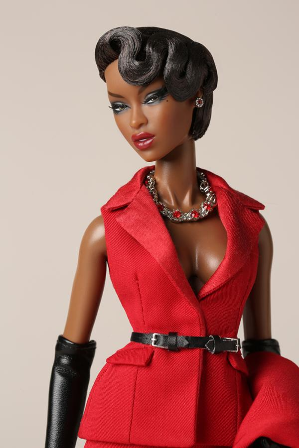 Adele Makeda Exquise doll close up