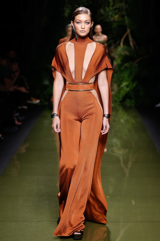 Balmain Ready To Wear Spring 2018 - photo Vogue Runway Monica Feudi InDigital.tv