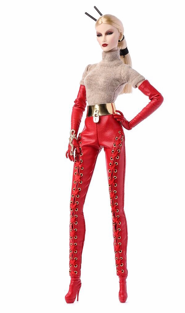 Fashion Royalty Elyse Jolie Outfit Red Boots Shoes Passion Week Integrity Doll