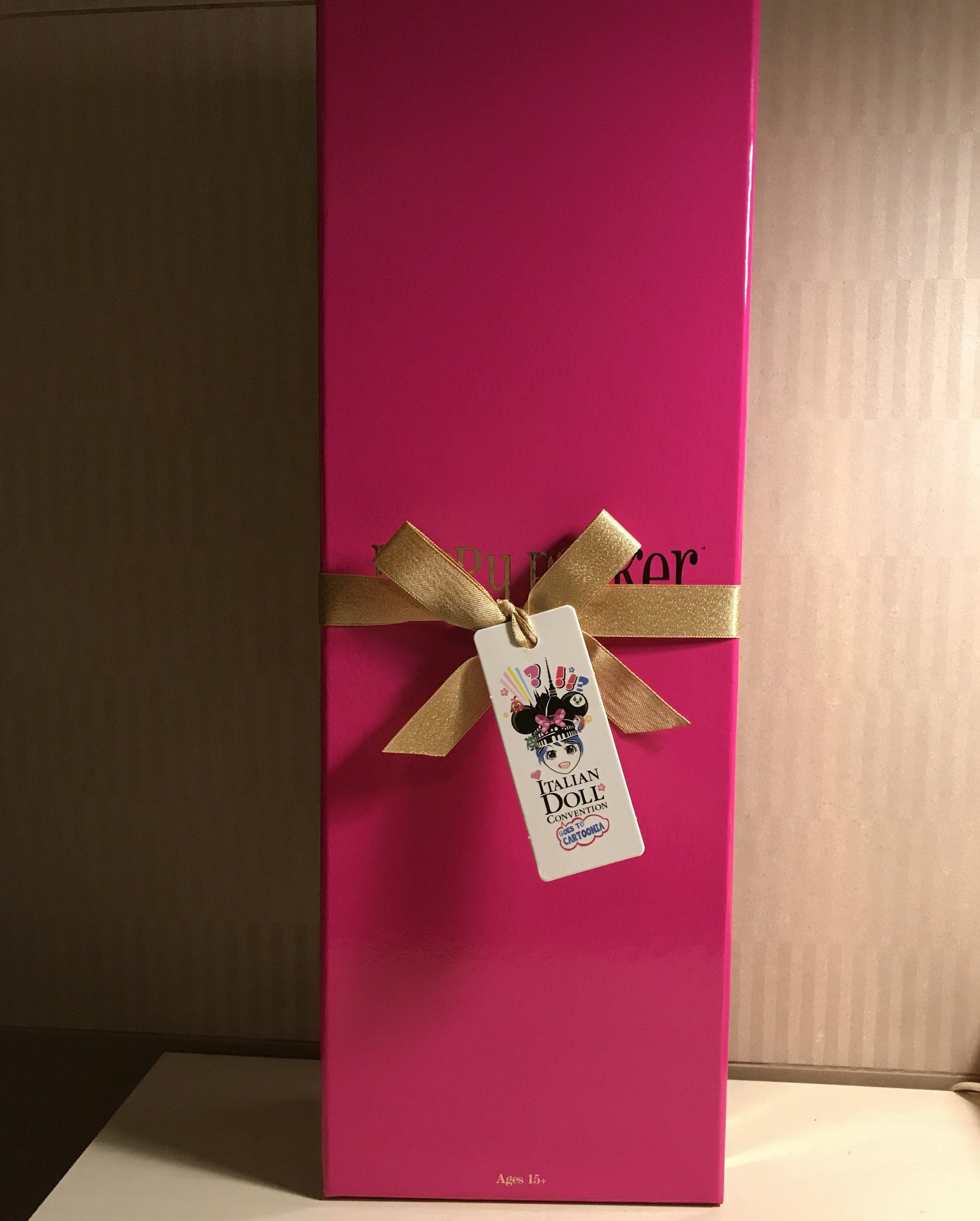 Ciao, Poppy! box unopened.