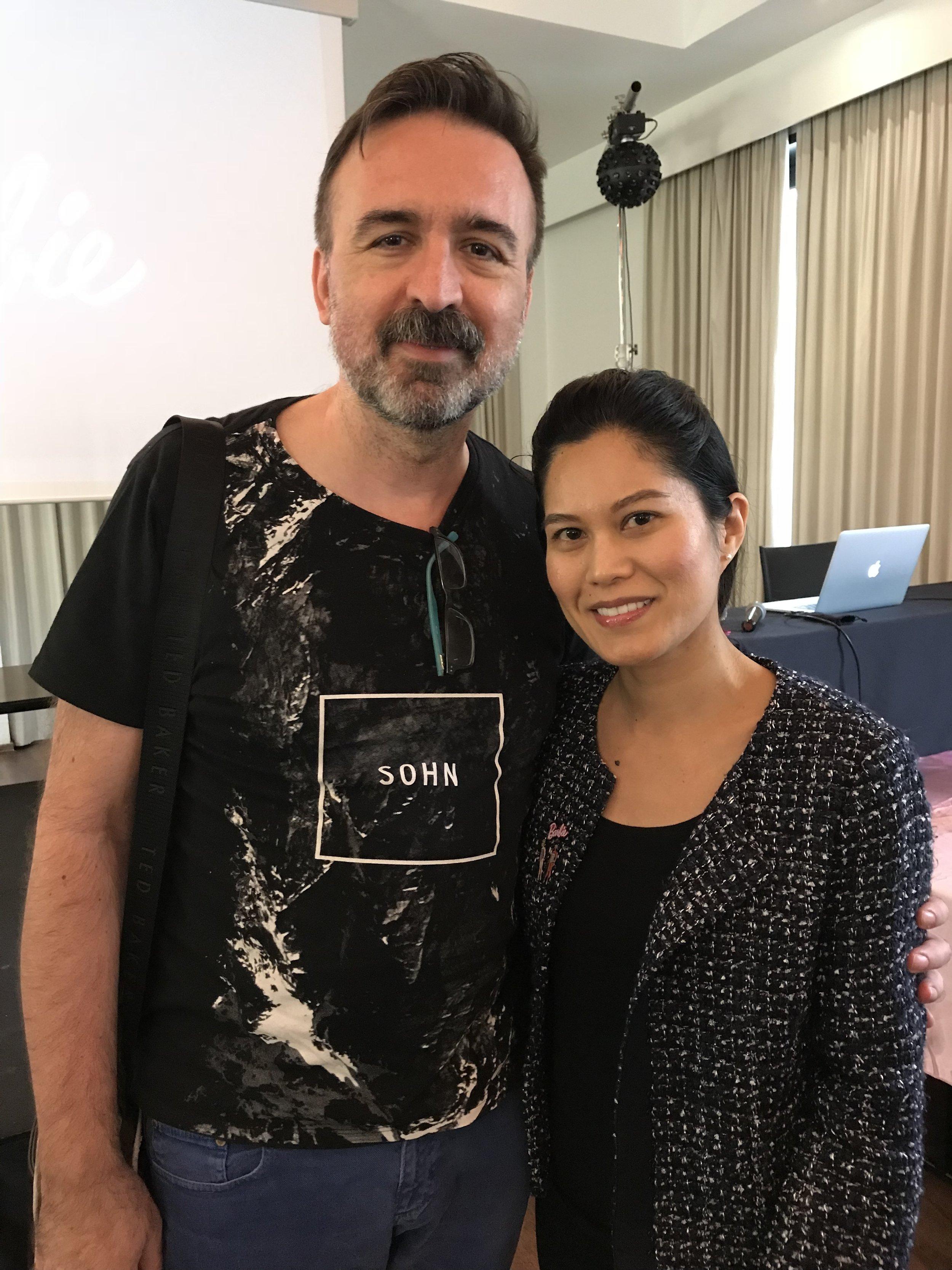 Me with Linda Kyaw