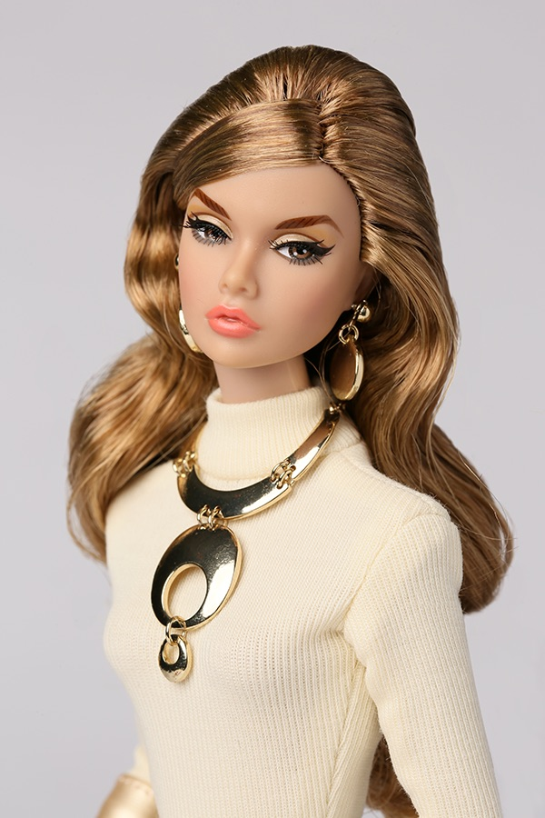 GOLD FRAMED EYEGLASSES FOR FASHION ROYALTY AND OTHER INTEGRITY DOLLS