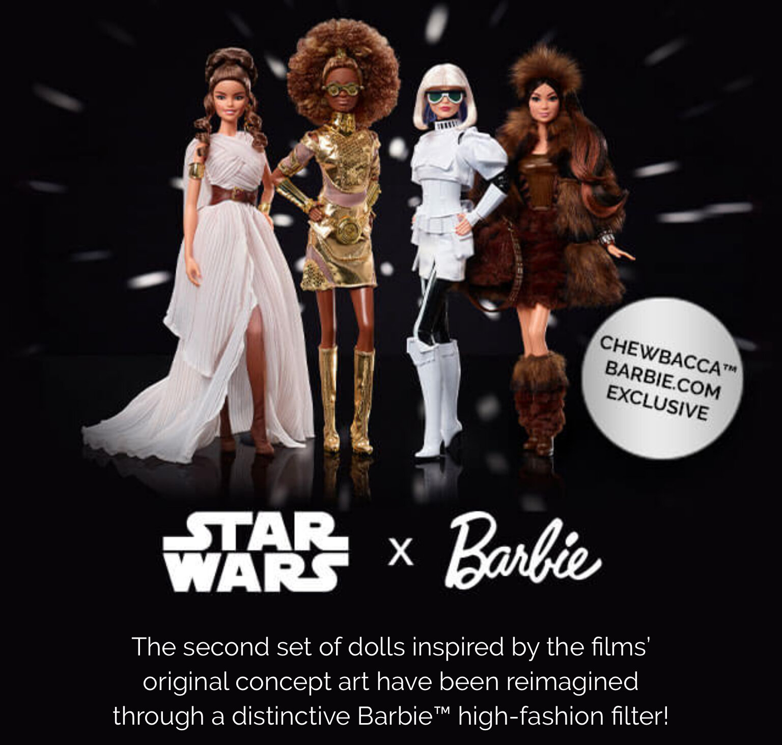 Limited Edition Barbie Star Wars Princess Leia Doll BRAND NEW IN HAND