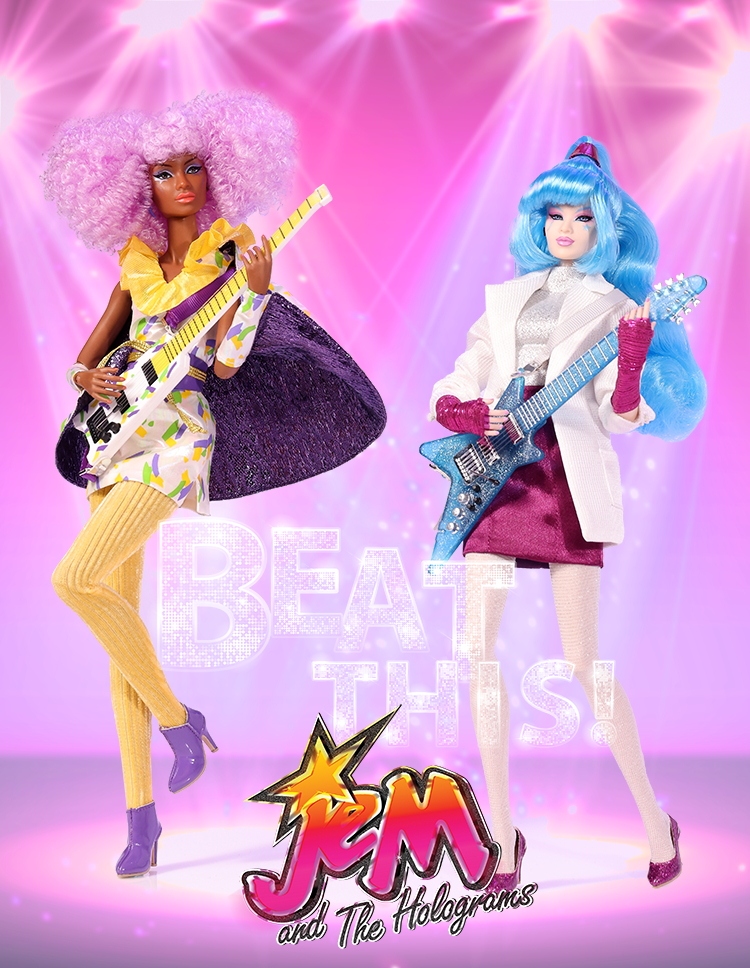 Jem And The Holograms The Fashion Doll Chronicles Fashion Doll Chronicles