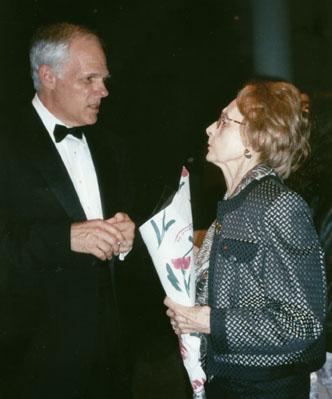 John Owings with Gaby Casadesus