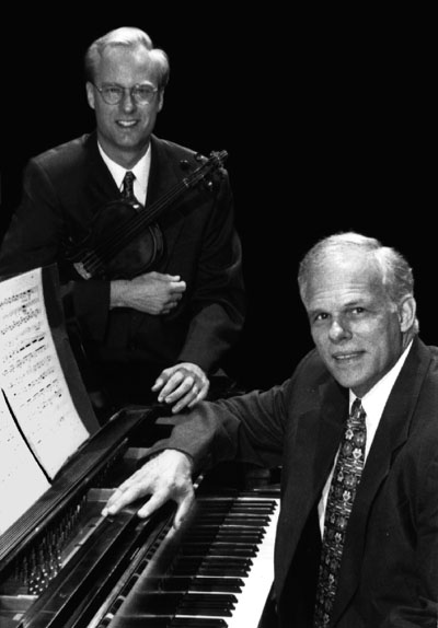 John Owings and Fritz Gearhart. This photo is featured in the notes of their CD of unpublished Quincy Porter works.